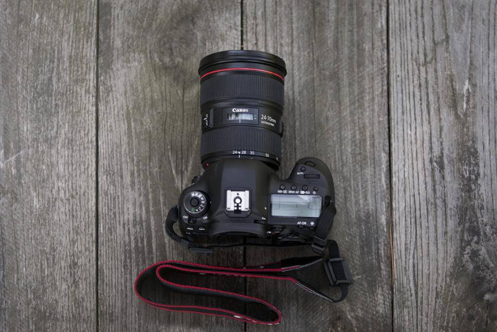 Canon 5D Mk4 top